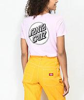 Santa Cruz Missing Dot Pink T-Shirt