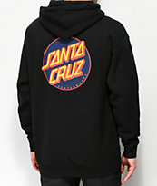 Santa Cruz Other Dot Black & Navy Hoodie