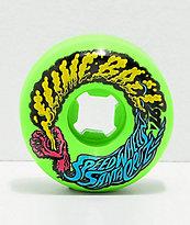 Santa Cruz Slime Balls 56mm Vomit Green ruedas de skate en verde
