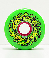 Santa Cruz Slime Balls OG 66mm 78a ruedas de longboard verdes