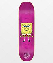 "Santa Cruz x SpongeBob SquarePants SpongeBob 8.0"" Skateboard Deck"