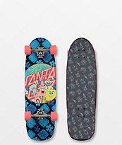 "Santa Cruz x SpongeBob SquarePants Spongegroup 29"" Cruiser Complete"