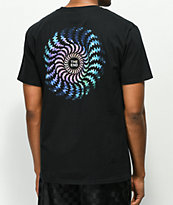 Spitfire Evan Smith Swirl camiseta negra