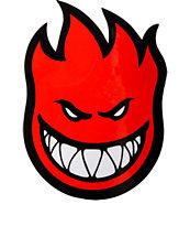 Spitfire Fireball Small Sticker