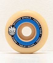 Spitfire Formula Four Tablet 53mm 99a Blue & Natural Skateboard Wheels