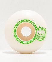 Spitfire Scorchers 52mm 99a ruedas de skate en blanco y verdes