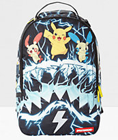 Sprayground x Pokemon Pikachu Electric Shark mochila