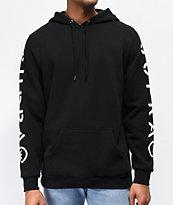 Supra All Caps Black Hoodie