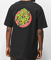 TMNT x Santa Cruz Turtle Power camiseta negra