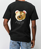 Teddy Fresh Colorful Filth Head Black T-Shirt