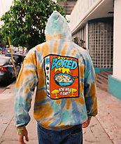 Teenage Breakfast sudadera con capucha tie dye