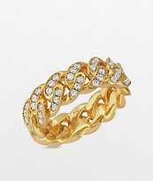 The Gold Gods 6mm Yellow Gold Cuban Ring