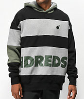 The Hundreds Fig Black & Grey Hoodie