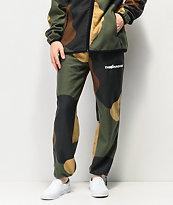 The Hundreds Shrubland pantalones deportivos de camuflaje verde