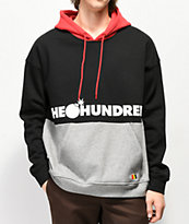 The Hundreds Sierra Red, Black & Grey Hoodie