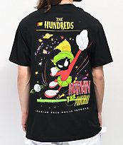 The Hundreds x Marvin The Martian Kaboom camiseta negra