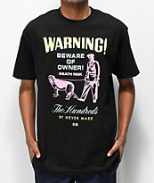 The Hundreds x Never Made Beware camiseta negra