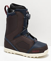 Thirtytwo STW Brown Boa Snowboard Boots 2019