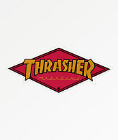 Thrasher Diamond Logo pegatina
