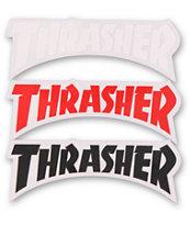 Thrasher Die Cut Logo Assorted Sticker