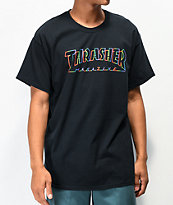 Thrasher Spectrum camiseta negra