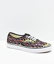 Vans Authentic Mash Up zapatos de skate de llamas