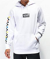 Vans Boxed Drop V White Hoodie