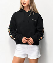 Vans Breast Cancer Awareness Black Crop Hoodie