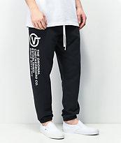 Vans Distort Type Black Jogger Sweatpants