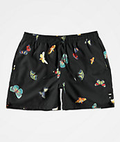 Vans Mixed Volley Metamorphosis Black Board Shorts