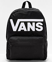 Vans Old Skool III mochila negra y blanca