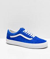 Vans Old Skool Pig Suede Princess zapatos de skate azules