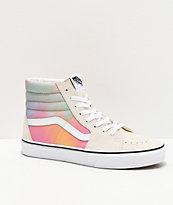 Vans Sk8-Hi Aura Shift & White Skate Shoes