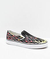 Vans Slip-On Mash Up zapatos de skate de llamas