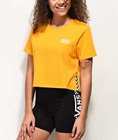 Vans Split Sided camiseta corta amarilla