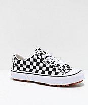 Vans Style 29 zapatos de skate de cuadros negros y blancos