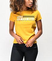 Vans Track Mango camiseta encogida