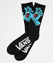 Vans x Santa Cruz Screamer Black Crew Socks