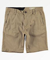 Volcom Frickin Drifter Khaki Shorts