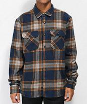 Volcom Randower Melindigo Flannel Shirt