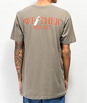 WeatherMTN Summit Dark Grey T-Shirt