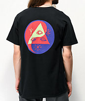 Welcome Balance camiseta negra