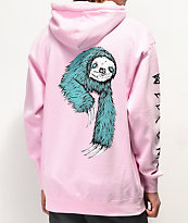 Welcome Sloth Pink Hoodie