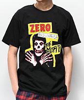 Zero x The Misfits Business Black T-Shirt