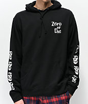Zero x The Misfits Multi-Fiend Skull Black Hoodie