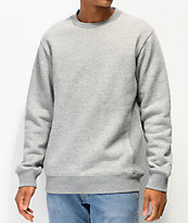 Zine Keeper Grey Crew Neck Sweatshirt