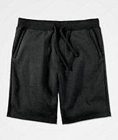 Zine Silas Black Sweat Shorts