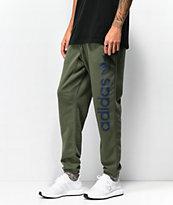 adidas BB pantalones deportivos verdes