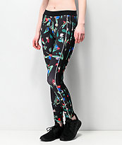adidas Floral Black Leggings