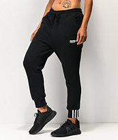 adidas R.Y.V. Black Jogger Sweatpants
